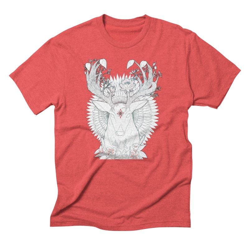 Deer, Oh, Deer Men's Triblend T-Shirt by Lenny B. on Threadless