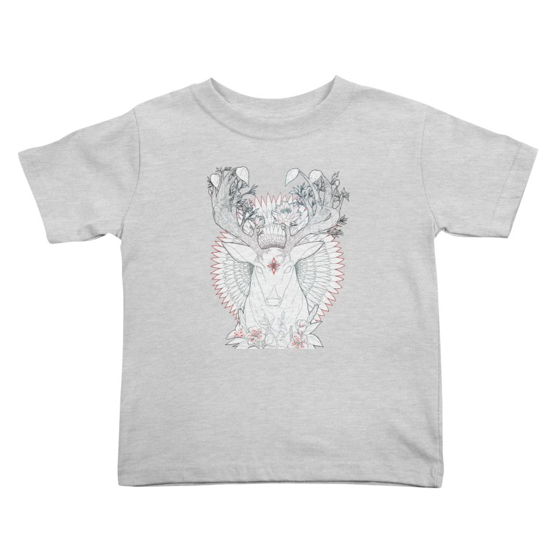 Deer, Oh, Deer Kids Toddler T-Shirt by Lenny B. on Threadless