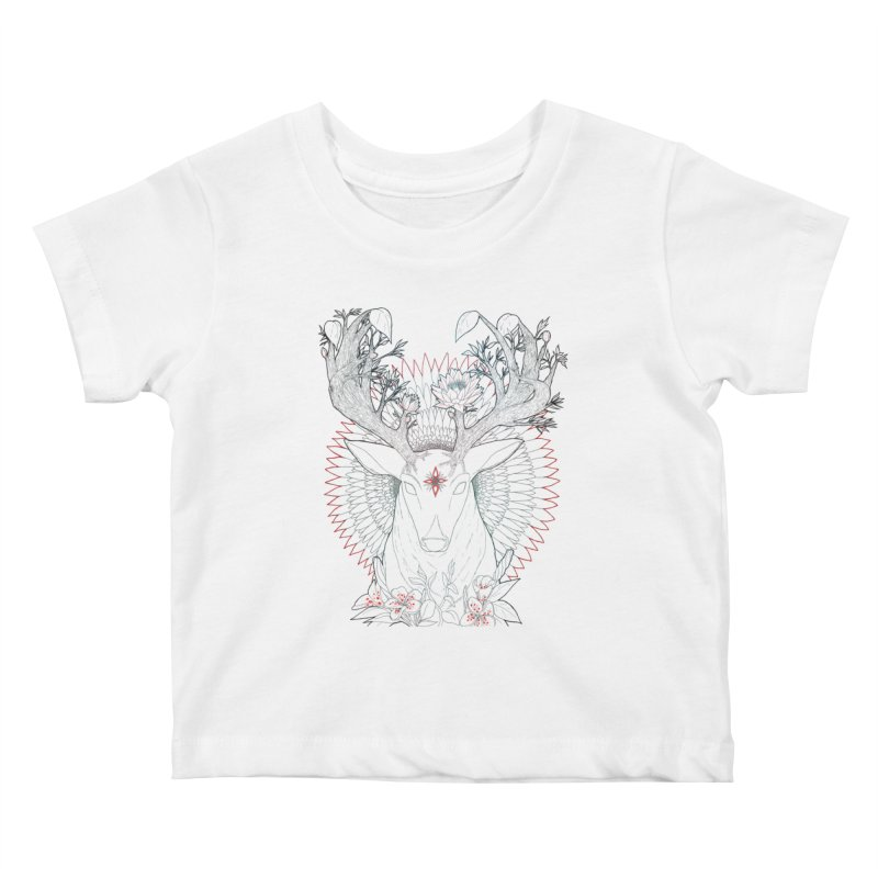 Deer, Oh, Deer Kids Baby T-Shirt by Lenny B. on Threadless