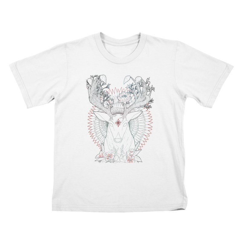 Deer, Oh, Deer Kids T-Shirt by Lenny B. on Threadless