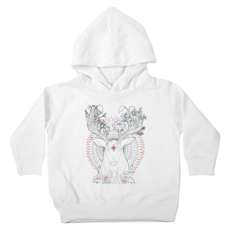 Deer, Oh, Deer Kids Toddler Pullover Hoody by Lenny B. on Threadless