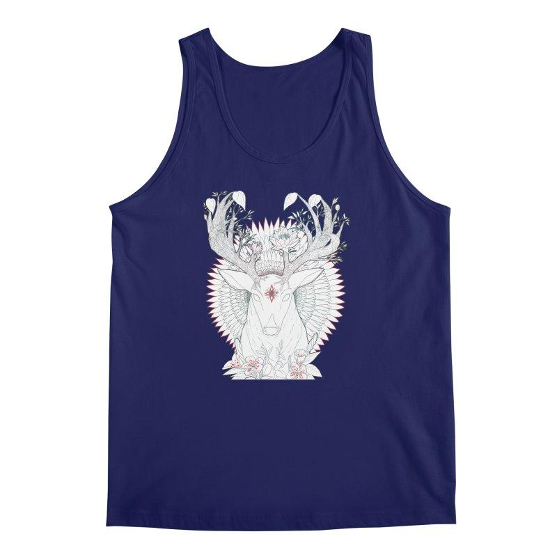 Deer, Oh, Deer Men's Tank by Lenny B. on Threadless