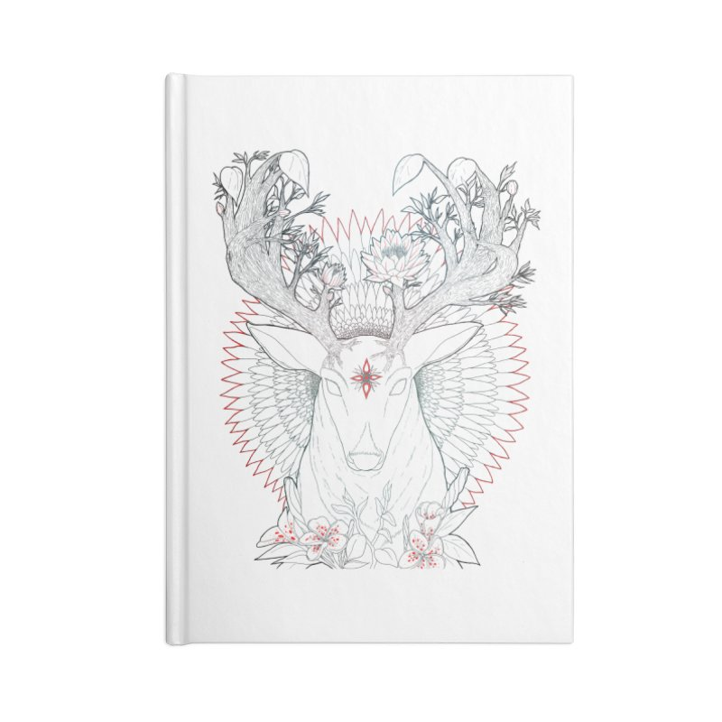 Deer, Oh, Deer Accessories Notebook by Lenny B. on Threadless