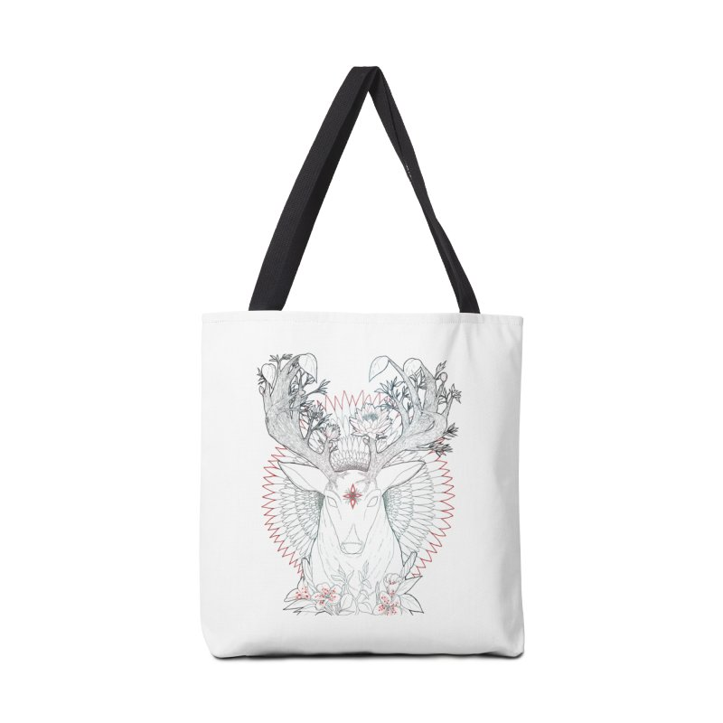 Deer, Oh, Deer Accessories Bag by Lenny B. on Threadless
