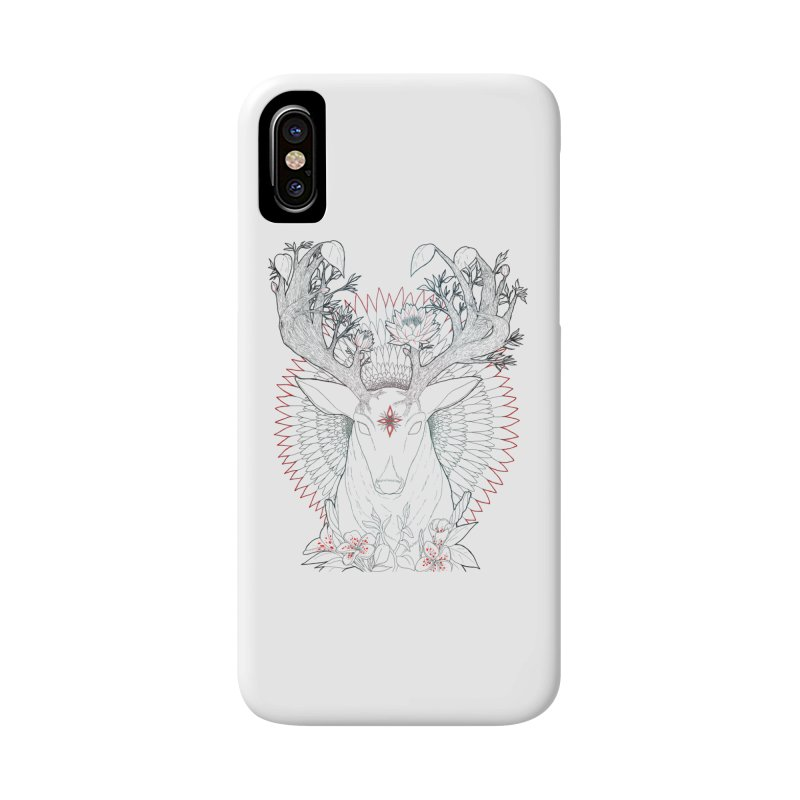 Deer, Oh, Deer Accessories Phone Case by Lenny B. on Threadless