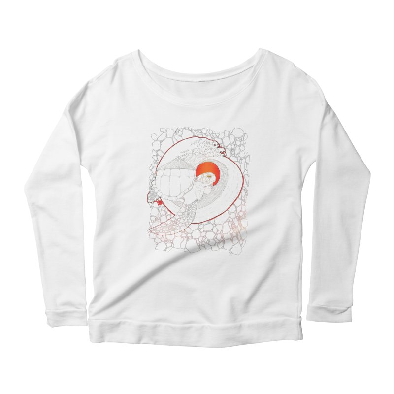 Home, Sweet Home Women's Longsleeve Scoopneck  by Lenny B. on Threadless