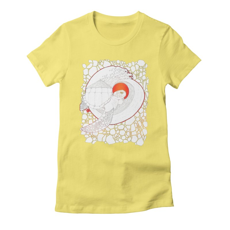 Home, Sweet Home Women's Fitted T-Shirt by Lenny B. on Threadless