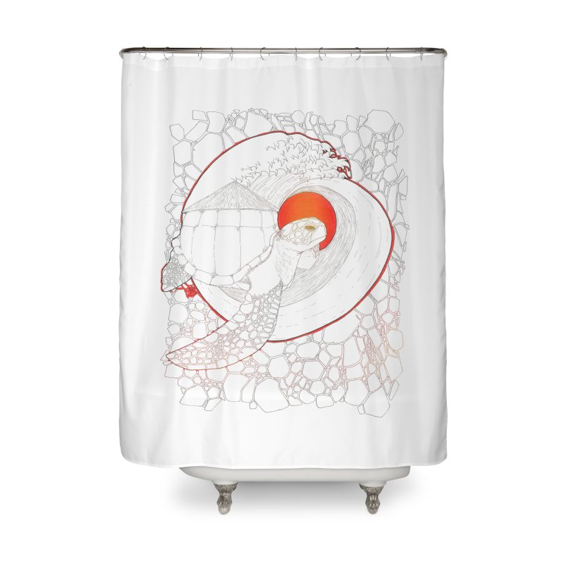 Home, Sweet Home Home Shower Curtain by Lenny B. on Threadless