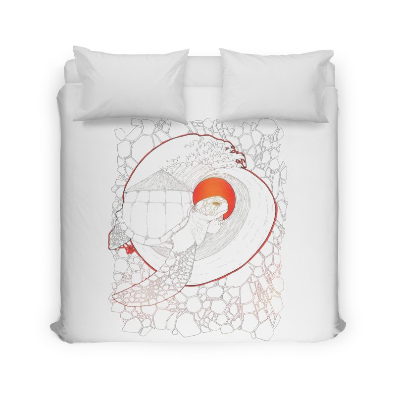 Home, Sweet Home Home Duvet by Lenny B. on Threadless