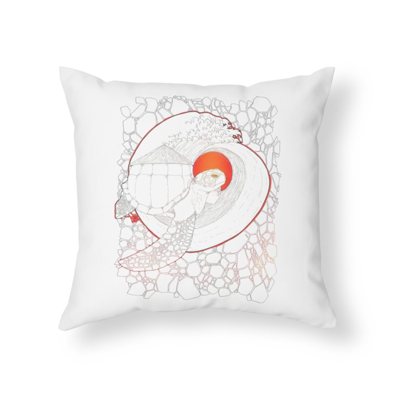 Home, Sweet Home Home Throw Pillow by Lenny B. on Threadless