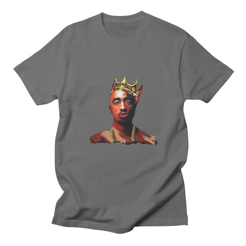 Lennyspook Tupac King Mens T Shirt