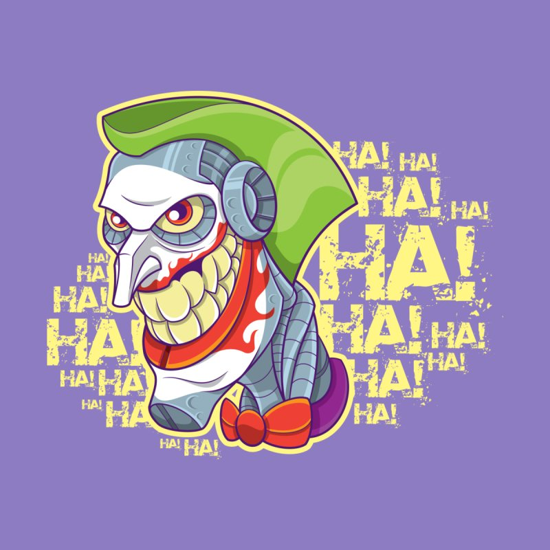 Robot Joker Home Blanket by leogoncalves's Artist Shop