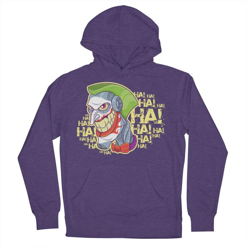 Robot Joker Women's Pullover Hoody by leogoncalves's Artist Shop