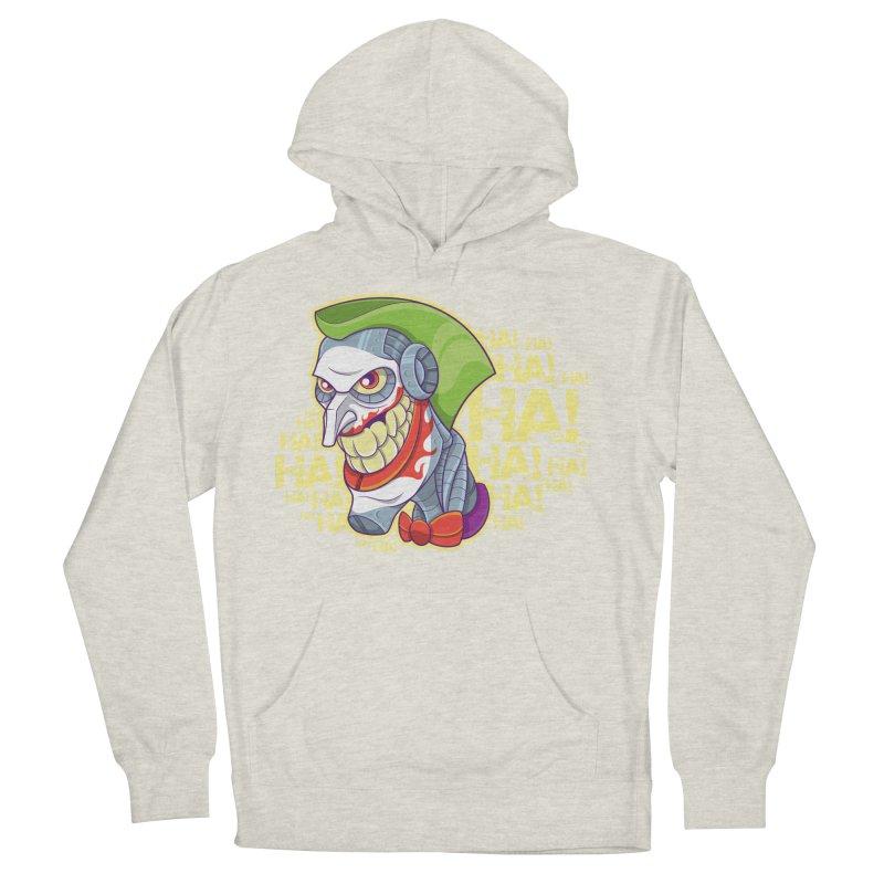 Robot Joker Women's French Terry Pullover Hoody by leogoncalves's Artist Shop