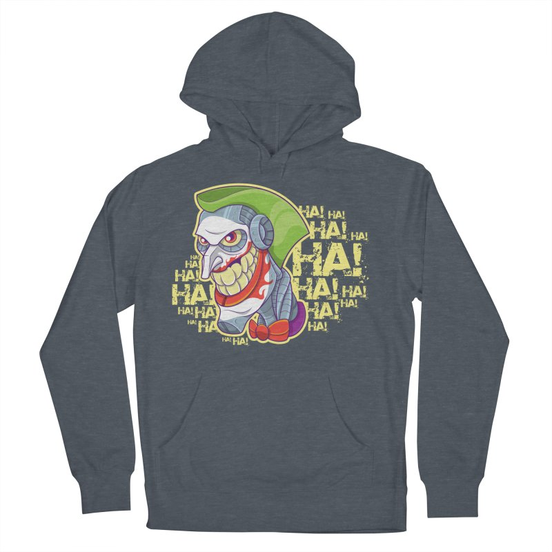Robot Joker Men's Pullover Hoody by leogoncalves's Artist Shop