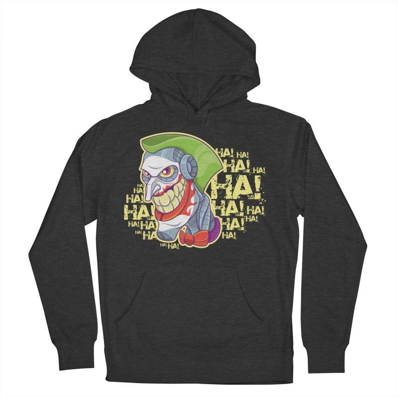 Robot Joker Men's French Terry Pullover Hoody by leogoncalves's Artist Shop