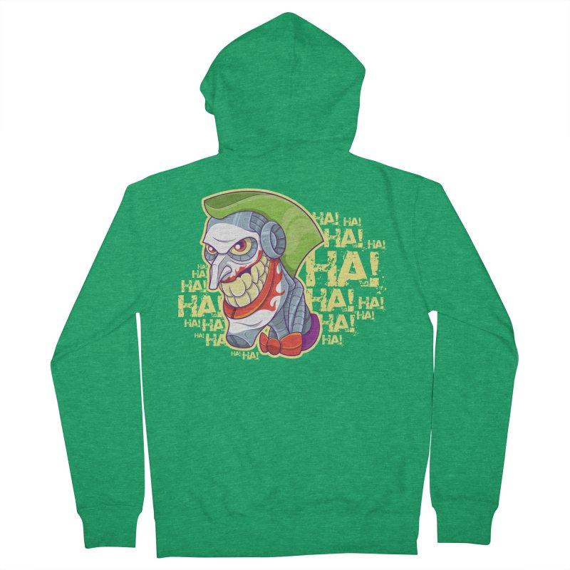 Robot Joker Men's Zip-Up Hoody by leogoncalves's Artist Shop