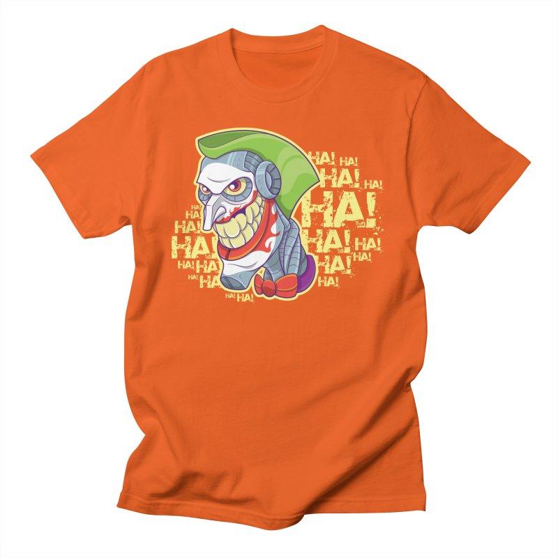 Robot Joker Men's T-Shirt by leogoncalves's Artist Shop