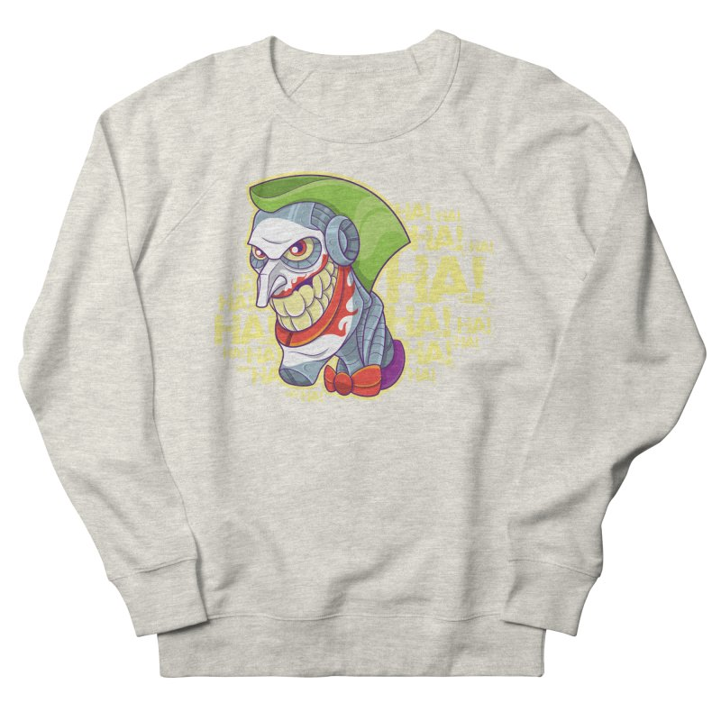 Robot Joker Men's Sweatshirt by leogoncalves's Artist Shop