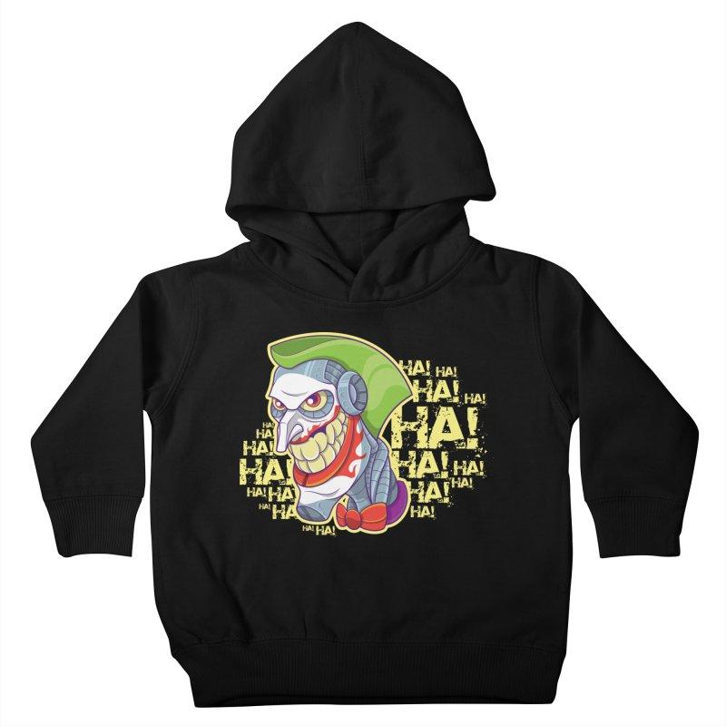 Robot Joker Kids Toddler Pullover Hoody by leogoncalves's Artist Shop