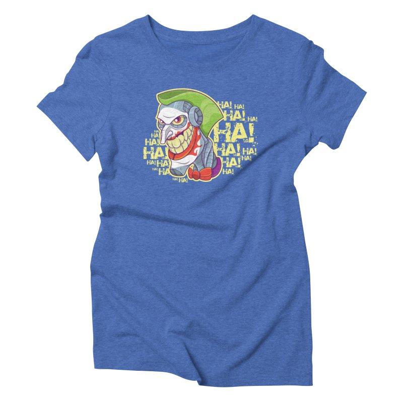 Robot Joker Women's T-Shirt by leogoncalves's Artist Shop