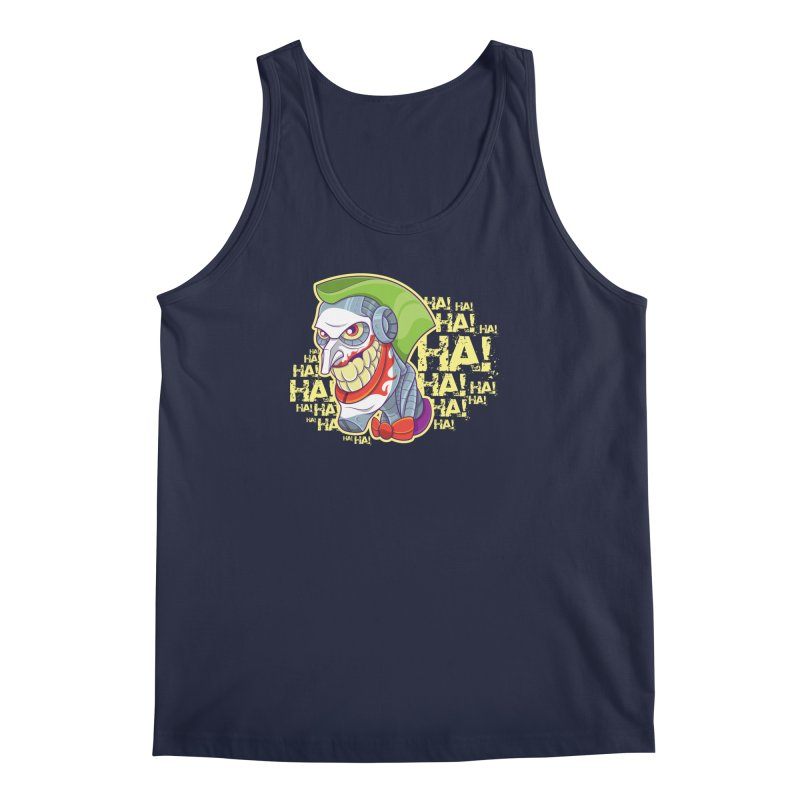 Robot Joker Men's Regular Tank by leogoncalves's Artist Shop