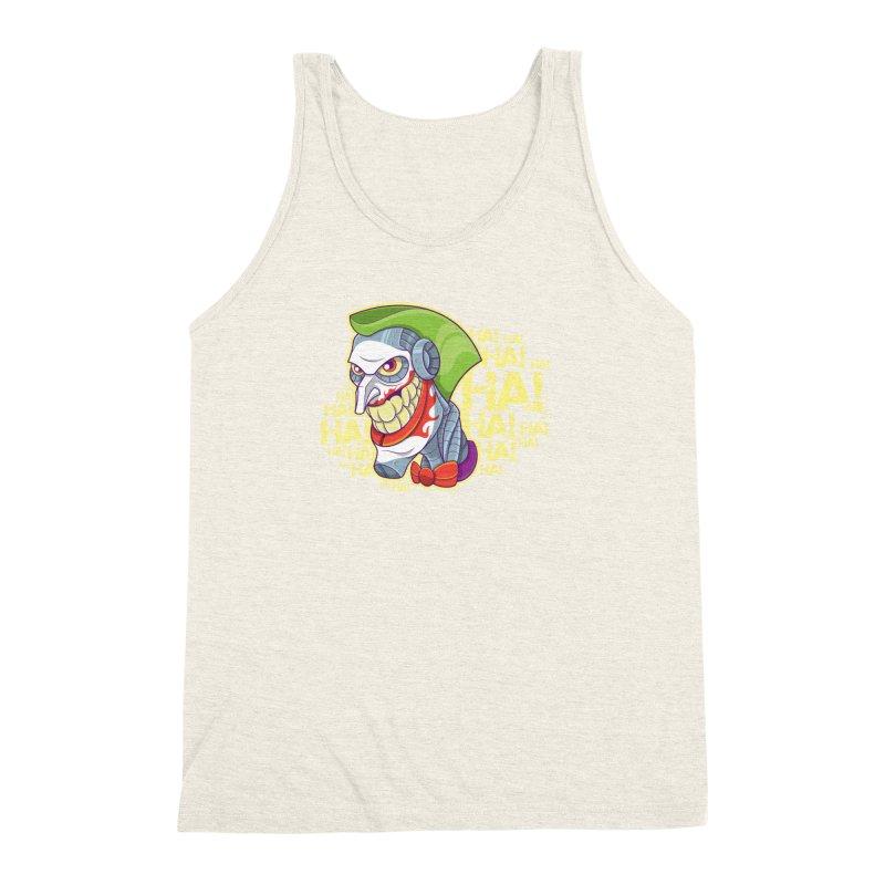 Robot Joker Men's Triblend Tank by leogoncalves's Artist Shop