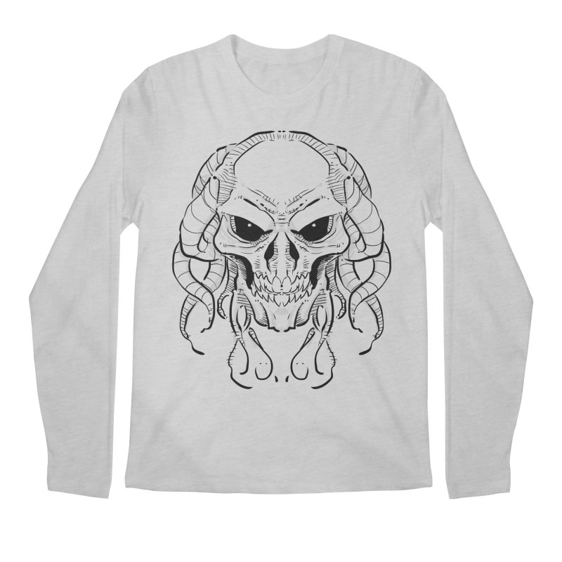 Skull Tentacles Men's Longsleeve T-Shirt by leogoncalves's Artist Shop