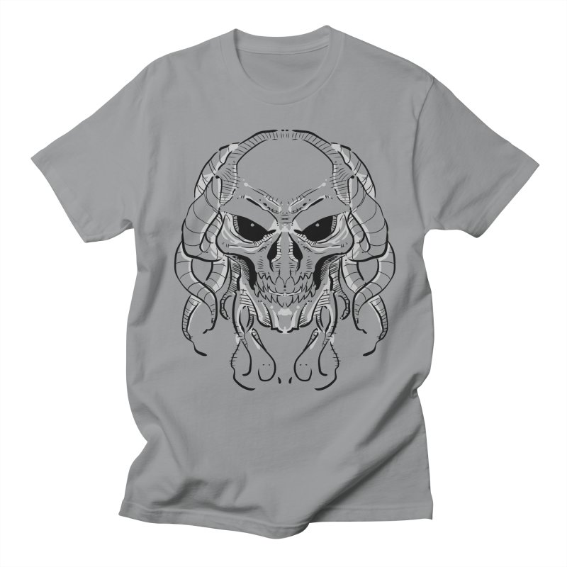 Skull Tentacles Men's T-Shirt by leogoncalves's Artist Shop
