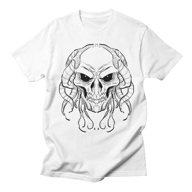 Skull Tentacles Men's Regular T-Shirt by leogoncalves's Artist Shop