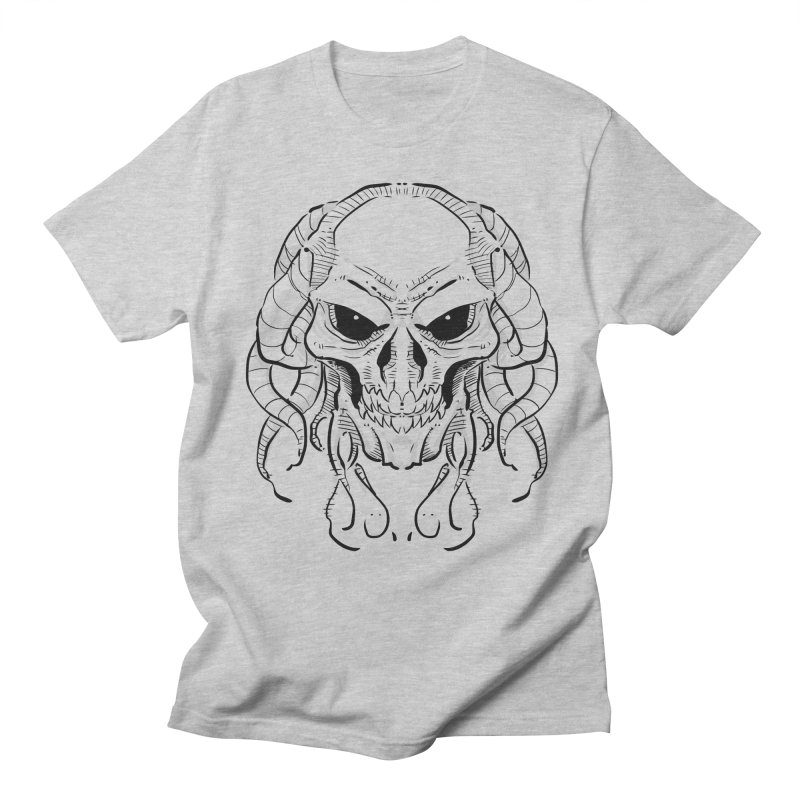 Skull Tentacles Men's T-Shirt by leogoncalves's Artist Shop