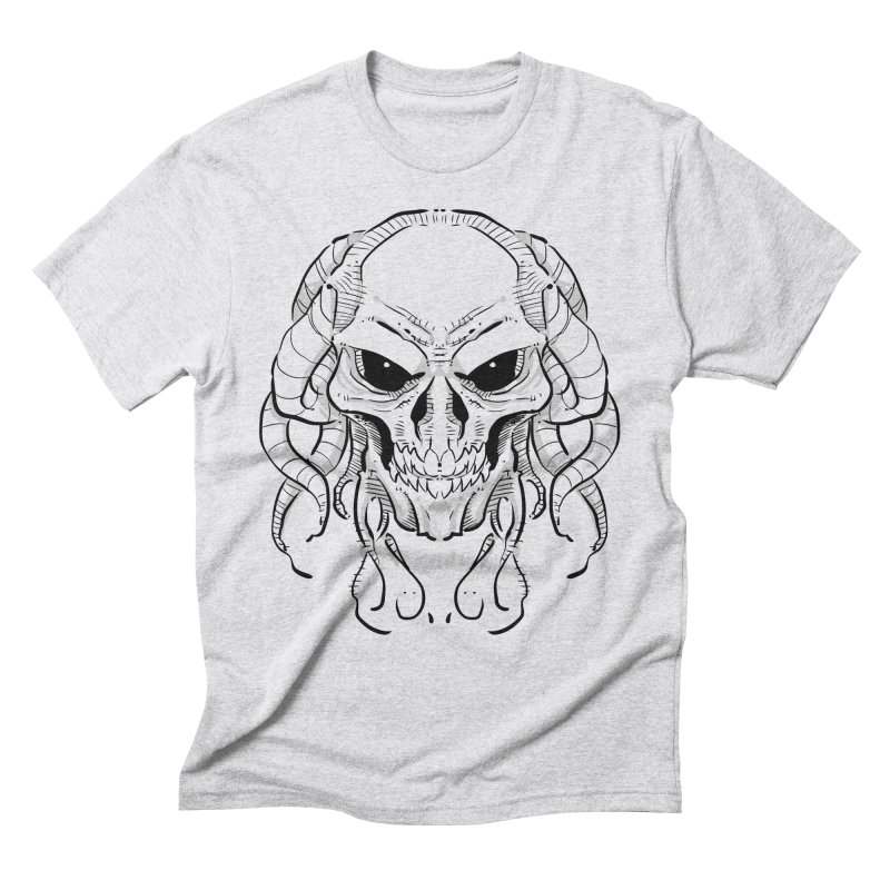 Skull Tentacles Men's Triblend T-Shirt by leogoncalves's Artist Shop