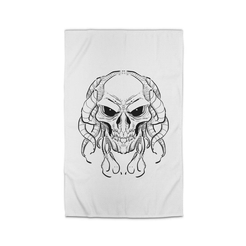 Skull Tentacles Home Rug by leogoncalves's Artist Shop