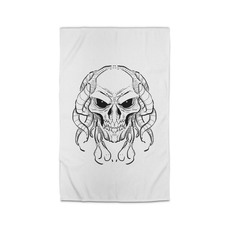Skull Tentacles Home Rug by leogoncalves's Artist Shop