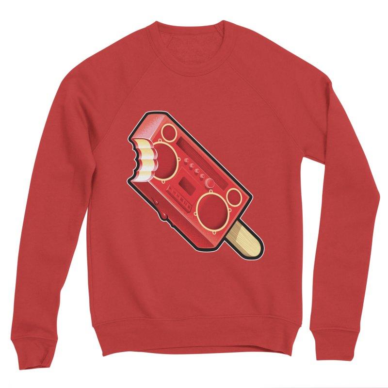 BoomPop Men's Sponge Fleece Sweatshirt by Leon's Artist Shop