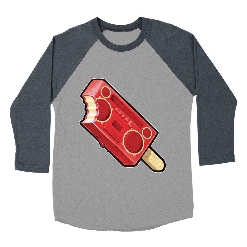 BoomPop Women's Baseball Triblend Longsleeve T-Shirt by Leon's Artist Shop