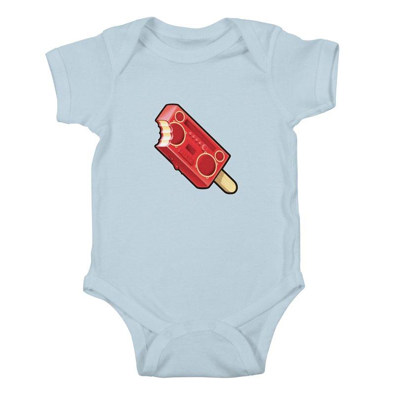 BoomPop Kids Baby Bodysuit by Leon's Artist Shop
