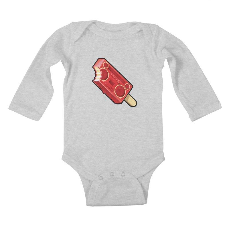 BoomPop Kids Baby Longsleeve Bodysuit by Leon's Artist Shop
