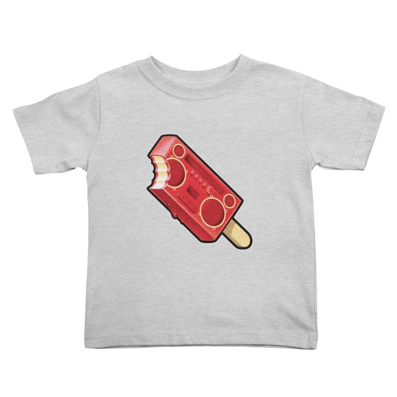 BoomPop Kids Toddler T-Shirt by Leon's Artist Shop