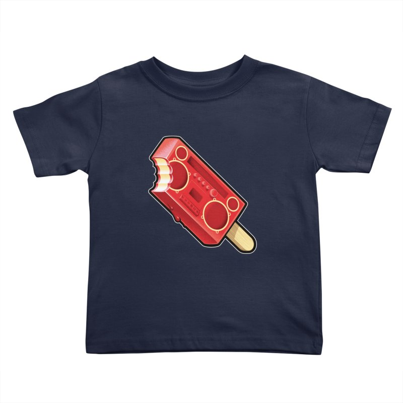 BoomPop Kids Toddler T-Shirt by Leon's Artist Shop