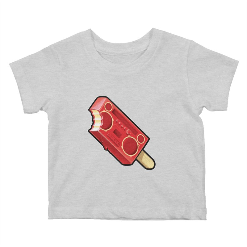BoomPop Kids Baby T-Shirt by Leon's Artist Shop