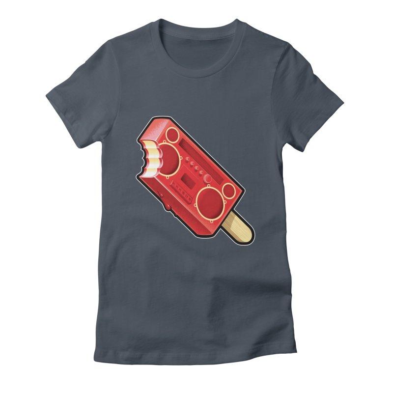 BoomPop Women's T-Shirt by Leon's Artist Shop