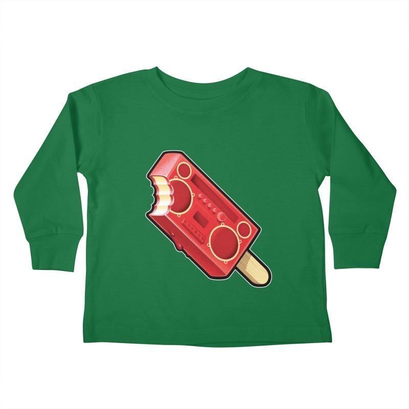 BoomPop Kids Toddler Longsleeve T-Shirt by Leon's Artist Shop