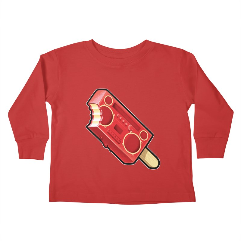 BoomPop Kids Toddler Longsleeve T-Shirt by Leon's Artist Shop
