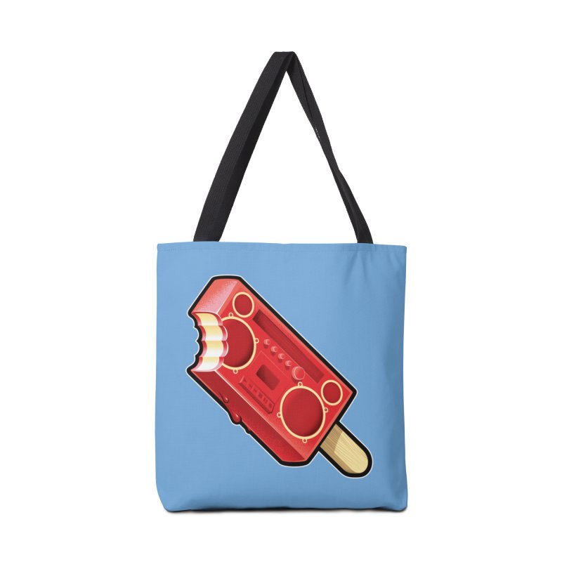 BoomPop Accessories Tote Bag Bag by Leon's Artist Shop