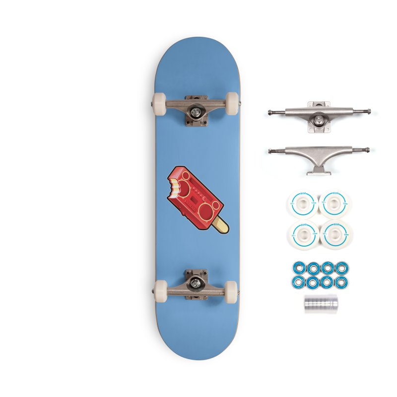 BoomPop Accessories Complete - Basic Skateboard by Leon's Artist Shop