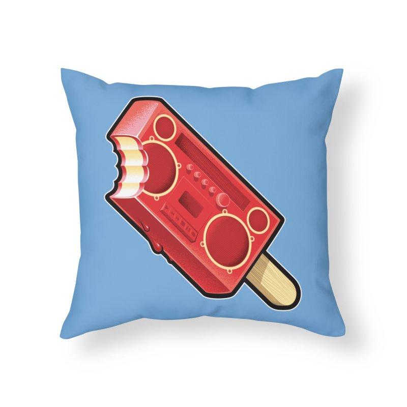 BoomPop Home Throw Pillow by Leon's Artist Shop