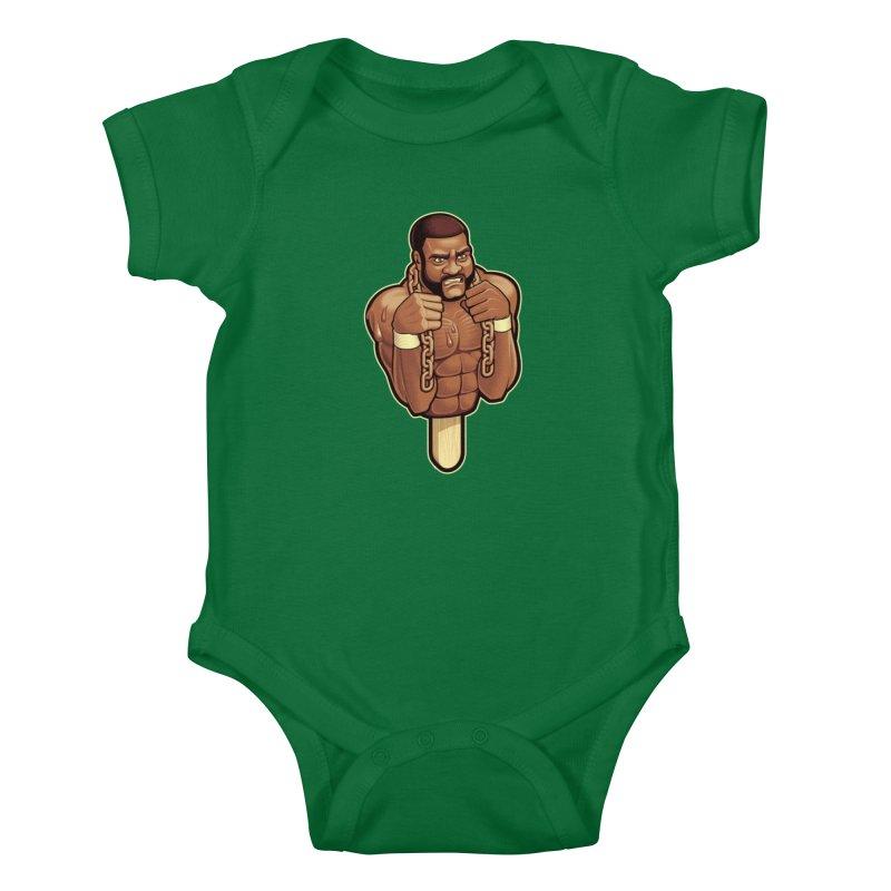 JunkyardFudge Kids Baby Bodysuit by Leon's Artist Shop