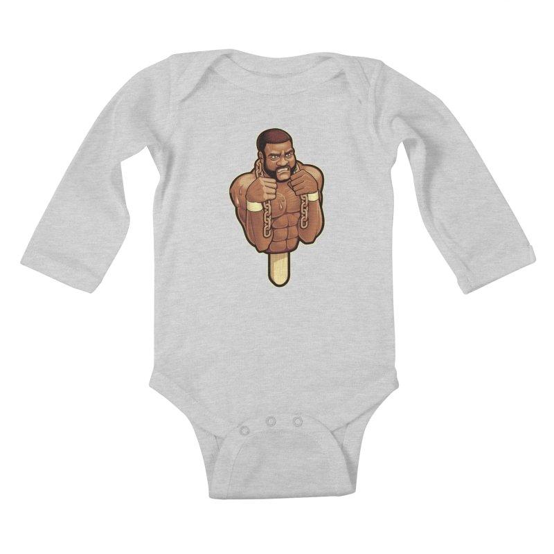 JunkyardFudge Kids Baby Longsleeve Bodysuit by Leon's Artist Shop