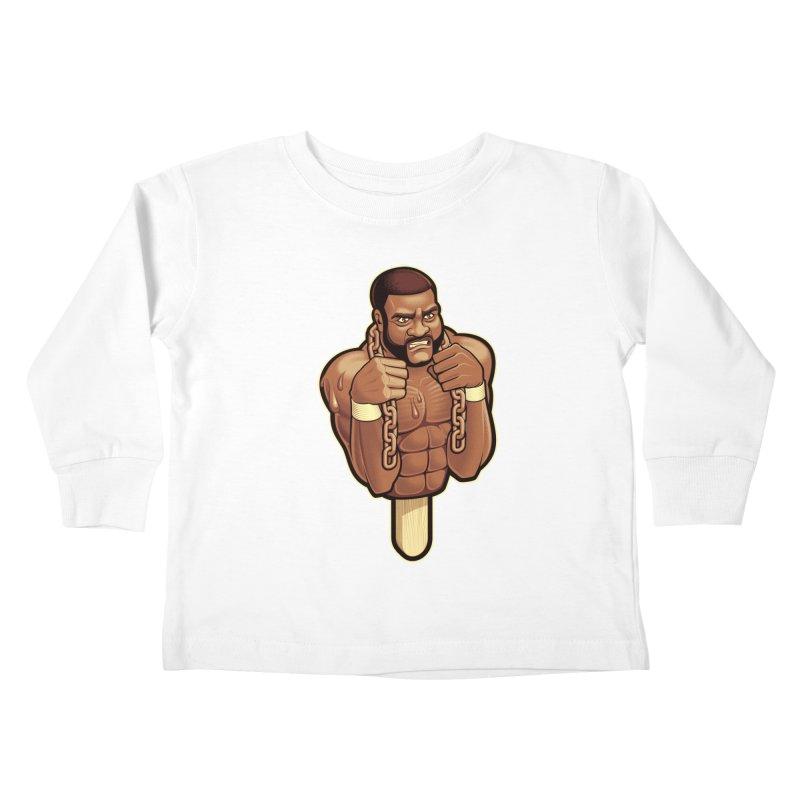 JunkyardFudge Kids Toddler Longsleeve T-Shirt by Leon's Artist Shop